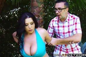 Big Boobs Sheridan Love Massaged And Hammered By Keiran