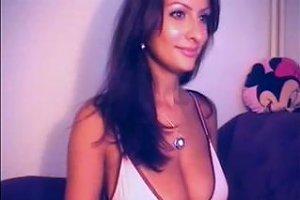 Massive Tits Swinging On A Webcam