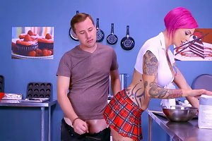 Appealing Chick Kitchen Sex Experience In Slutty Modes