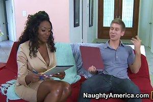 Nyomi Banxxx Danny Wylde In My First Sex Teacher Upornia Com