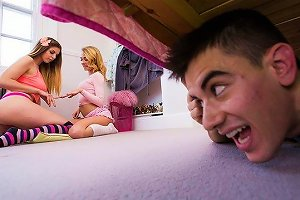 Stella Cox Tubedupe The Scoundrel Ruins A Sleepover