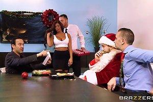 Big Tits At Work Here's Your Christmas Bonus Alexa Pierce Danny Mountain Keiran Lee